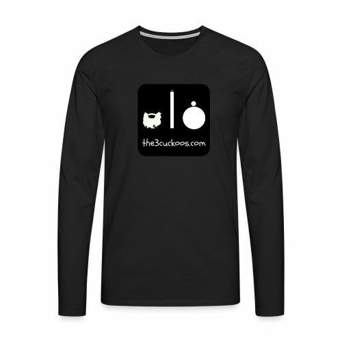 3 Cuckoos Logo Classic Tee - Men's Premium Longsleeve Shirt