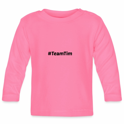 3 Cuckoos Team Tim - Baby Long Sleeve T-Shirt