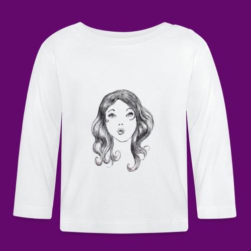 sexy girl - T-shirt manches longues Bébé