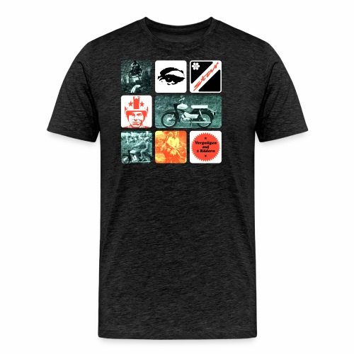 Moped Star - Men's Premium T-Shirt