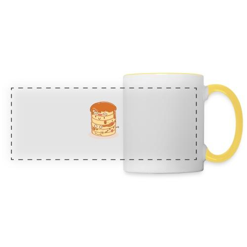 Pancake Party - Mug panoramique contrasté et blanc