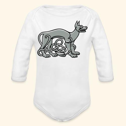 Celtic Dog - Baby Bio-Langarm-Body