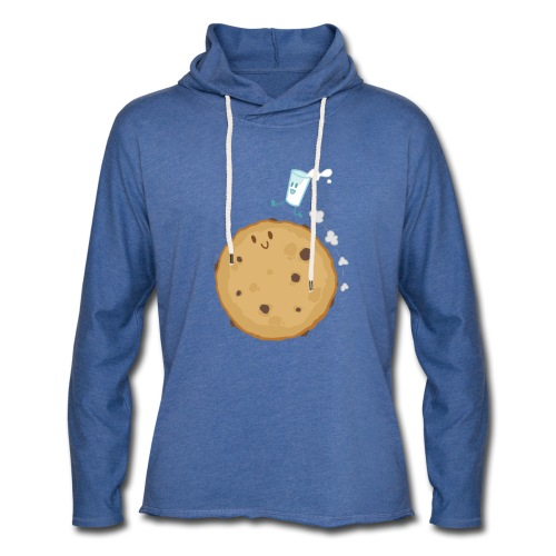 Planet Cookie - Sweat-shirt à capuche léger unisexe