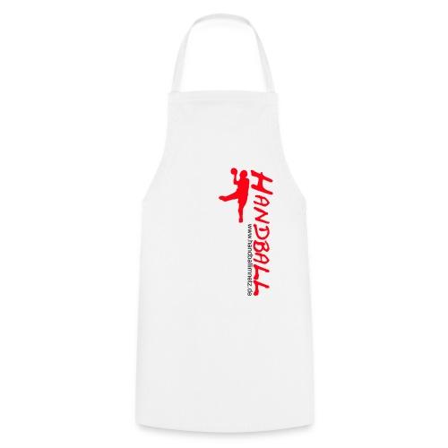 Werfer rot Handball im Netz WOMEN - Kochschürze