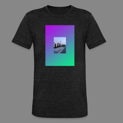 SOLITUDE GRADIENT 01 Fit-Shirt - Unisex Tri-Blend T-Shirt von Bella + Canvas