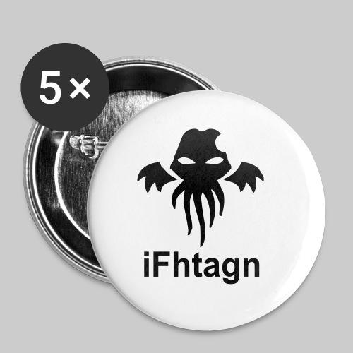 IFhtagn-Teddybär - Buttons klein 25 mm