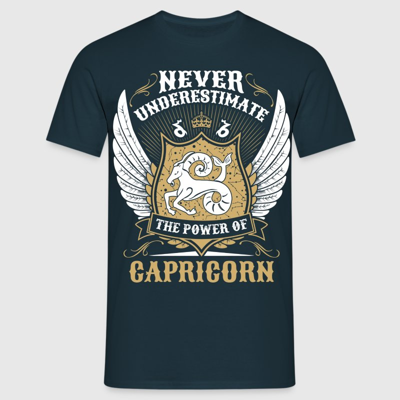 Never Underestimate The Power Of Capricorn T-Shirts - Men's T-Shirt