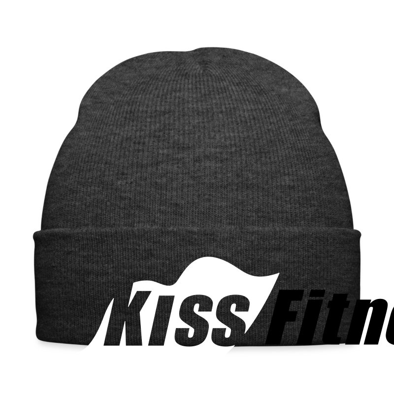Kiss Fitness Jersey Beanie (Red) - Winter Hat