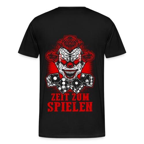 ACAB - 1312 - ZEIT ZUM SPIELEN - CLOWN - Männer Premium T-Shirt