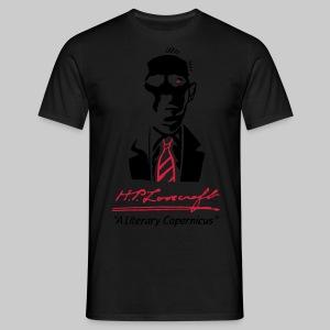 MTPd2: H.P. Lovecraft - A Literary Copernicus (2-farbig) - Männer T-Shirt