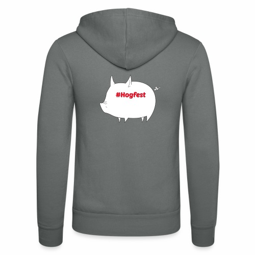 #Hogfest - Unisex Hooded Jacket by Bella + Canvas