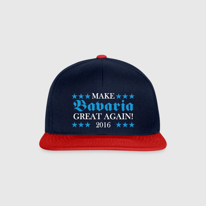 Make Bavaria Great Again (BlauWeiss) Caps & Mützen - Snapback Cap