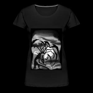 Horror mit dem Spinnenmann - Frauen Premium T-Shirt