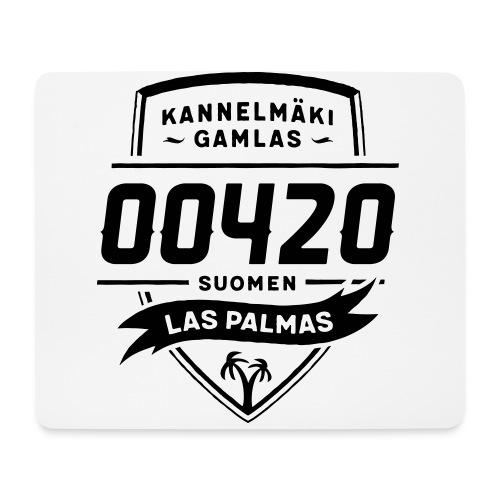 Kannelmäki Gamlas - Suomen Las Palmas - Hiirimatto (vaakamalli)