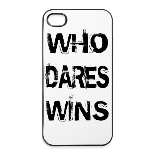 Who Dares Wins - iPhone 4/4s Hard Case