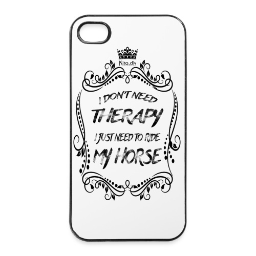Therapy vs Horse - iPhone 4/4s Hard Case