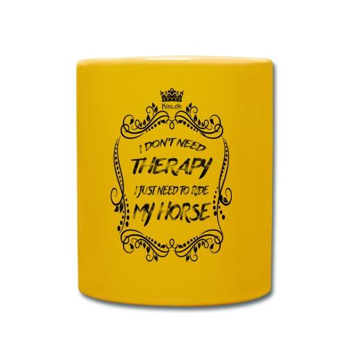 Therapy vs Horse - Full Colour Mug