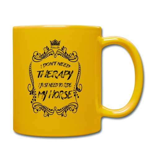 Therapy vs Horse - Full Colour Mug