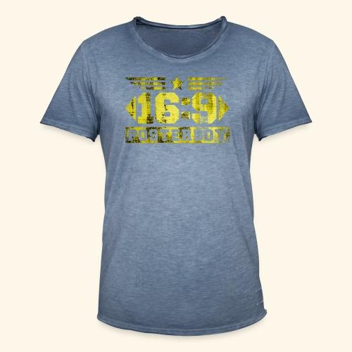 XL Posterboy - Männer Vintage T-Shirt