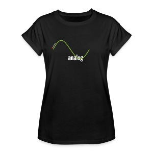 Analog Girl - Frauen Oversize T-Shirt