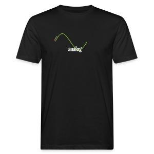 Analog Girl - Männer Bio-T-Shirt