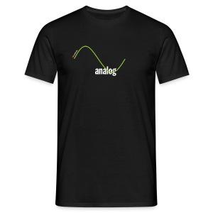 Analog Girl - Männer T-Shirt