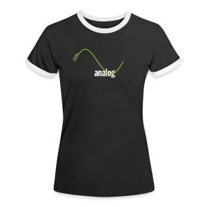 Analog Girl - Frauen Kontrast-T-Shirt
