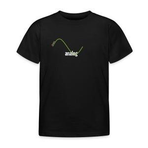 Analog Girl - Kinder T-Shirt