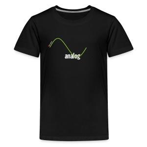 Analog Girl - Teenager Premium T-Shirt