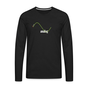 Analog Girl - Männer Premium Langarmshirt