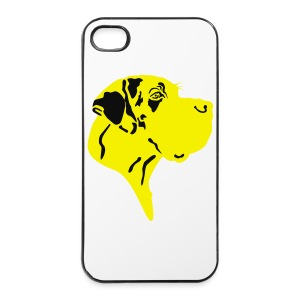 Harlekindogge Turnbeutel - iPhone 4/4s Hard Case