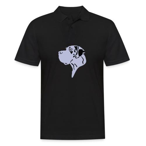 Harlekindogge Turnbeutel - Männer Poloshirt