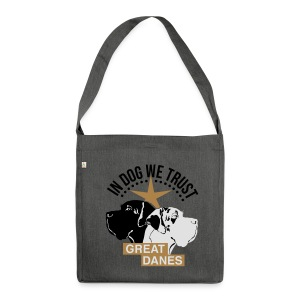 Harlekindogge Turnbeutel - Schultertasche aus Recycling-Material