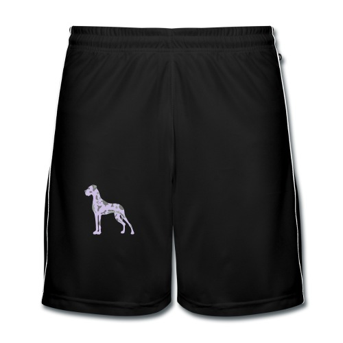 Harlekindogge Turnbeutel - Männer Fußball-Shorts