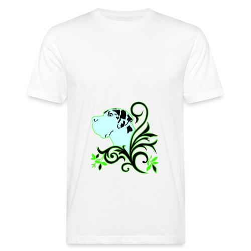 Harlekindogge Turnbeutel - Männer Bio-T-Shirt