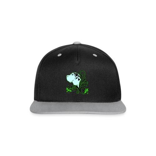 Harlekindogge Turnbeutel - Kontrast Snapback Cap