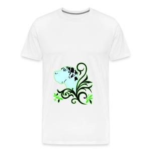 Harlekindogge Turnbeutel - Männer Premium T-Shirt