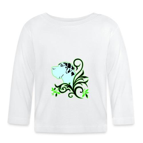 Harlekindogge Turnbeutel - Baby Langarmshirt