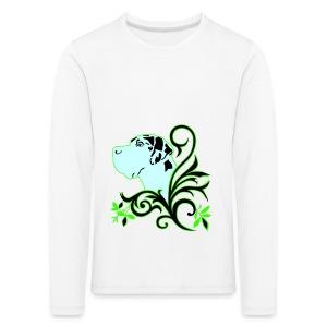 Harlekindogge Turnbeutel - Kinder Premium Langarmshirt