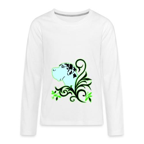 Harlekindogge Turnbeutel - Teenager Premium Langarmshirt