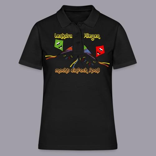Lenkdrachen fliegen macht einfach Spaß - Frauen Polo Shirt