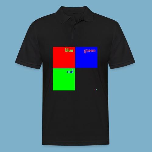 Fundago Color Motiv - Männer Poloshirt