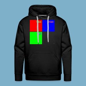 Fundago Color Motiv - Männer Premium Hoodie