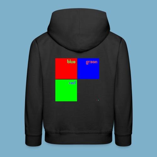 Fundago Color Motiv - Kinder Premium Hoodie