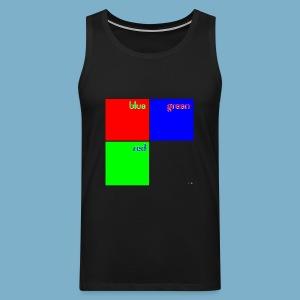 Fundago Color Motiv - Männer Premium Tank Top