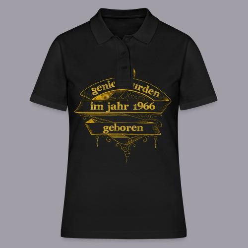 Genies wurden im Jahr 1966 geboren - Frauen Polo Shirt