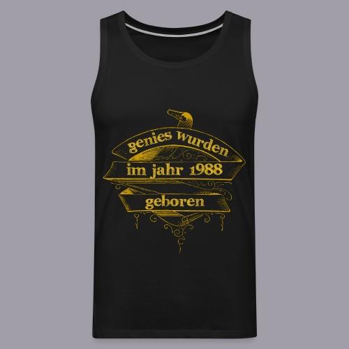Genies wurden im Jahr 1988 geboren - Männer Premium Tank Top