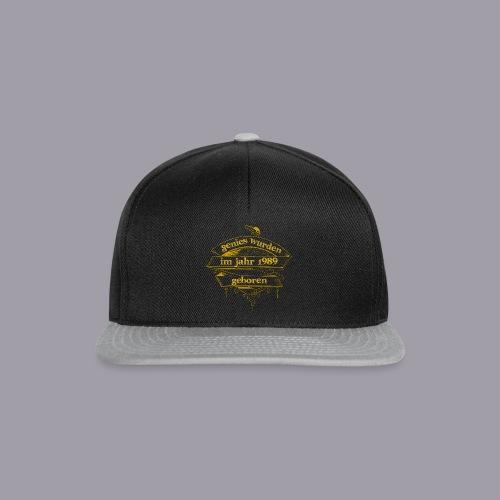 Genies wurden im Jahr 1989 geboren - Snapback Cap