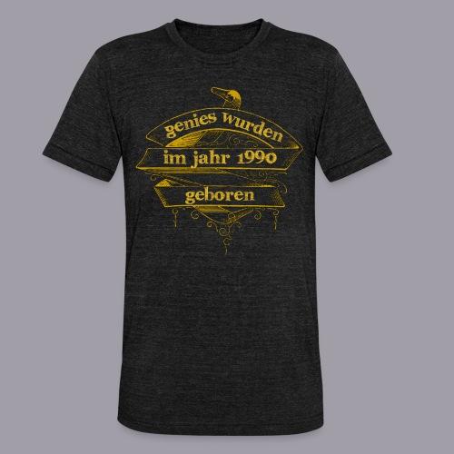 Genies wurden im Jahr 1990 geboren - Unisex Tri-Blend T-Shirt von Bella + Canvas