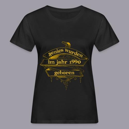 Genies wurden im Jahr 1990 geboren - Frauen Bio-T-Shirt